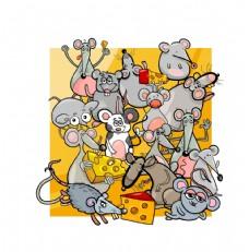 各种老鼠卡通形象